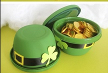 St. Patricks Day Crafts for Kids / Feeling lucky this year? Check out Little Passports for some fun activities & delicious treats the whole family will enjoy!