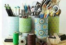 Eco Ideas For The Home / Tips and ideas to create your own crafty homewares and gifts...