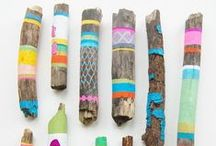 Fun Eco Crafts for Kids! / Fun, green ideas to keep your little ones entertained!