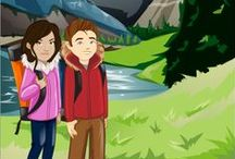 Montana for Kids / Experience Montana's natural beauty and culture with Sam and Sofia! / by Little Passports