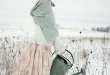 Winter inspiration / Winter and Christmas outfit ideas and other winter themed projects