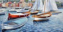 Paolo Caponi artista / Paolo Caponi artista italiano professionista - arte figurativa paesaggi marini