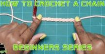 "Learn To Crochet | Martian Creations / Let me teach you how to crochet! Through my 15 years of crocheting I have made it my goal to show the world we are more than just doily and blanket makers. This is not your Grandma's crochet. This is ""Crochet For The Rest Of Us"". -LaKeesha"