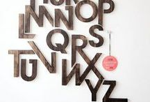 Typography / • Typefaces & Lettering •
