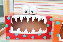 Monster Room / Enjoy these great finds for a kids monster room!