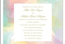 Your Personalized Wedding / Personalized wedding invitations and stationery to make your big day one of a kind