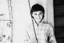 Audrey Hepburn. / by Eryn .