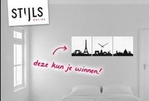 Winactie Stijls! / Dit is een voorbeeld moodboard voor de Pinterest actie 'Stijlvol met Stijls'. Dit voorbeeld kan niet worden overgenomen. Bekijk de opdracht en spelregels op www.facebook.nl/stijls