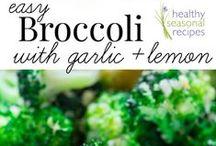 Broccoli Wokly / Recipes and more using Broccoli.