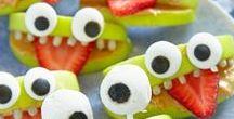 Haunting Halloween Snacks / Inspiration for fun-to-eat Halloween treats.