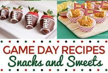 Game Day / All things Game Day. Appetizers, decorations, drinks, cocktails, desserts...