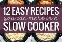 Slow-Cook Sunday / Slow-cooker and crock-pot meals and recipes. #SundaySupper Because sometimes we just need to take it easy on Sunday.