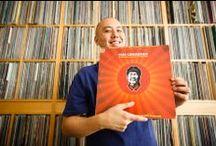 Photos of Vinyl Record Collectors