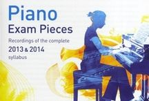 ABRSM Piano Exams 2013-2014 / All the alternate pieces for the ABRSM 2013-2014 Piano syllabus.