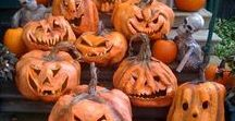 Autumn + Halloween / Autumn decor, recipes, activities and imagery for inspiration. Halloween decor, and inspiration ideas.