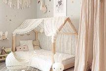 Kid Spaces / Kid bedroom and playroom decor ideas.