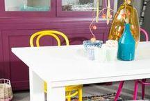 Stijl Studio: Modern Nomad / vtwonen Stijl Studio 'Modern Nomad' heeft een relaxte en ongedwongen uitstraling. Een oogstrelende mix van verschillende folkloristische dessin, stoere materialen en rijke kleuren. Gebruik als accessoires een kekke mix van diverse stijlen en verzamelde souvenirs. Ga op reis in je eigen huis en kom thuis in deze vrolijke woonstijl!