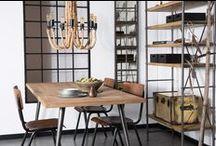 Stijl Studio: Industrieel / vtwonen Stijl Studio 'Industrial' wordt gekenmerkt door robuuste vormen en stoere details. In een aangename loftsfeer voeren metaal, beton en hout de boventoon. Met sobere zwart-, grijs- en bruintinten wordt de industriële sfeer versterkt. Met de opvallende accessoires maak je het geheel spannend en persoonlijk.