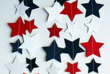 4th of July / 4th of July printables, other decor and party ideas.