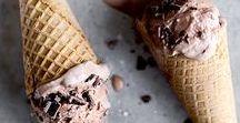 Boozy Ice Cream / I scream, you scream, we all scream for alcohol infused ice cream.