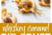 Whiskey Desserts and Drinks