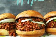 Burger Recipes. Homemade Burgers, Protien Balls. Plant Based Cooking. / Burger recipes, homemade. Plant based cooking at home. Meatless balls, meat-free protein recipes. Bean Burgers, Quinoa, Sloppy Joe's. Anything on a bun or in a ball!