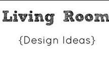 Living Room- Design Ideas / Virtual mood board for the living room. / by Year of Sarah Blog