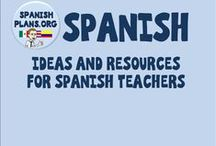 Spanish / Resources and ideas for Spanish Teachers to use in class