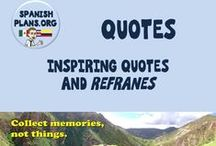Quotes / Teaching Quotes, Inspiring Quotes, Refranes