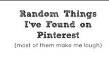 Random / Things I found on Pinterest that needed pinning! / by Year of Sarah Blog