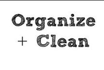 Organize and Clean / Tips and tricks to organize my life and keep it clean. / by Year of Sarah Blog