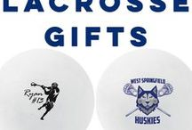 Lacrosse Gifts / Customize a lacrosse ball for any celebration, announcement, or with any message! They make great lacrosse party gifts, lacrosse team gifts, or thoughtful hockey coach gifts. We also have a wide variety of custom lacrosse pinnies, personalized lax beach towels, custom lacrosse phone cases and so much more.  All from ChalkTalkSPORTS.com!
