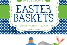 Sports Easter Baskets / Sports Easter Baskets from ChalkTalkSPORTS.com