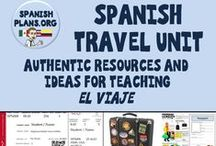 Spanish Travel Unit / Travel Unit in Spanish Class / by Spanish Plans