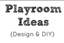 Play Room Ideas / Decor and function for a play room. / by Year of Sarah Blog