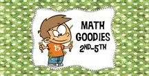 Math Goodies 2nd-5th / Need a great math idea? You've come to the right place! You'll find lots of ideas to spice up your math program right here!