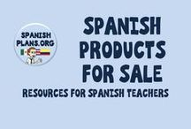 Spanish Products for Sale / Teacher Supplies of Spanish resources.