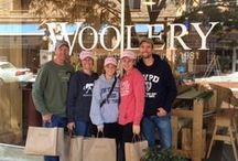 Inside the Woolery / Can't make it to Frankfort, KY to visit the Woolery in person? Here are photos from our shop!  / by The Woolery