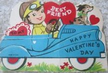 Be My Valentine / I absolutely love these charming,colorful valentines and there corning art and messages.
