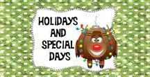 Holidays and Special Days / This is the place to come for classroom ideas, projects, plus free and paid resources for those special days throughout the year!