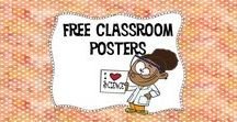 Free Classroom Posters / Posters, posters, and more posters! Get the one you need right here!