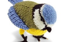 knitted  and  crochet  animals  / by Irene Haket