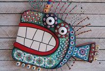 Recycled art projects- elementary