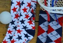 Lacrosse Socks / Our Lacrosse Socks not only look great, but are made for performance. We have an impressive collection of Lacrosse Socks for any laxer in awesome designs and colors! These comfortable mid-calf lacrosse socks are available in multiple sizes and would make a great gift for lacrosse players of all ages!