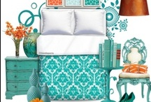 * Bedroom / Beautiful products for in the bedroom, like duvet covers and curtains, with designs and art from Indie Designers