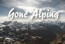 GONE ALPING - The Alpine Summer Edit™ / Prepare yourself for dramatic, jaw dropping scenic routes, whereby gargantuan landscapes are candidly revealed during the long hot summer days, just a few months of lushness before the return of the virginal winter snows… easy tiger…  Fill your thoughts with lush sweet meadows, wild flora, cooling glacial springs, fragrant herbs and the rich scent of those fertile lands & rural life.