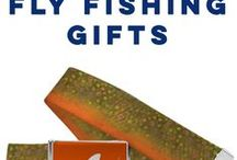Fly Fishing Gifts / We have so many gifts for people who love to fish! Our Fly Fishing Short Sleeve Tees are perfect for everyday wear! Our fun designs are created on 100% cotton t-shirts so they are the best fly fishing gift for fishermen and women! Personalize any fly fishing t-shirt with your name.  We also offer fun socks, pillows, and personalized frames to show your love for fishing!  Only from ChalkTalkSPORTS.com!