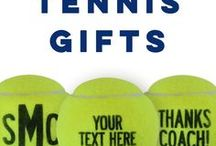 Tennis Gifts / Love tennis? Check out all of our custom gifts for your next special occasion!  Customize a tennis ball for any celebration or with any message! They make great tennis team gifts or thoughtful tennis coach gifts.  We also offer personalized frames, custom tennis tees, and so much more from ChalkTalkSPORTS.com!