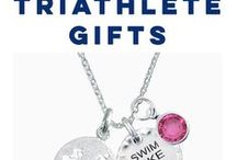Triathlete Gifts / Did someone conquer a triathlon recently? Find them the perfect congratulations gift! Then personalize it just for them!  We have everything from personalized drinkware to custom photo frames!  Only from ChalkTalkSPORTS.com!
