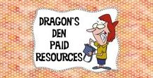 Dragon's Den Paid Resources / This is the place to come to see all of the terrific resources available at Dragon's Den!